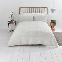 Sainsbury's Home Renna Boutique Duvet Cover Set - Kingsize