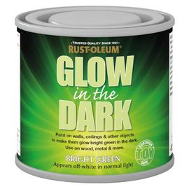 Rust-Oleum Glow in the Dark Paint 125ml - Green