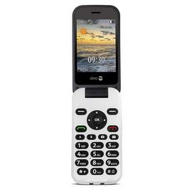 SIM Free Doro 6620 Mobile Phone - Black / White
