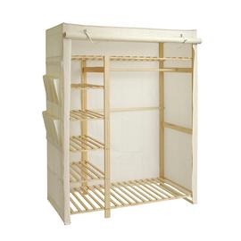 Argos Home Covered Triple Wardrobe - Cream