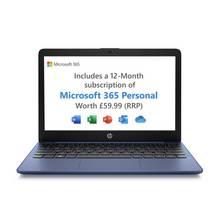 HP Stream 11.6in Celeron 2GB 32GB Cloudbook - Blue