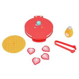Chad Valley Wooden Toy Waffle Maker