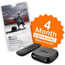 NOW TV Box with 4 Month Sky Entertainment Pass