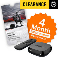 NOW TV Box with 4 Month Entertainment Pass