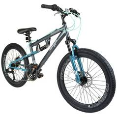 Muddyfox Nebraska 24 Inch Dual Supsension Girls Bike