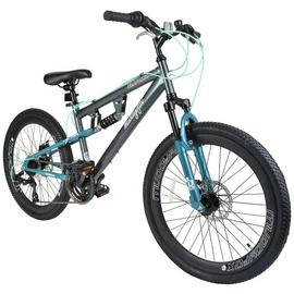 Muddyfox Nebraska 24 Inch Dual Supsension Kids Bike