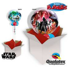 Star Wars 22 Inch Bubble Balloon In A Box