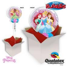 Disney Princess 22 Inch Bubble Balloon In A Box