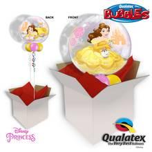 Disney Belle 22 Inch Bubble Balloon In A Box