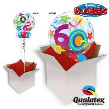 60th Brilliant Stars Bubble Balloon In A Box