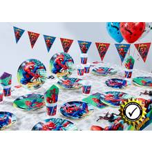 Marvel Ultimate Extra Spider-Man Team Up Party Pack