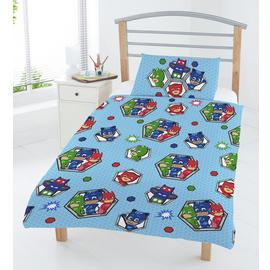 PJ Masks Badges Junior Duvet Cover Set - Toddler