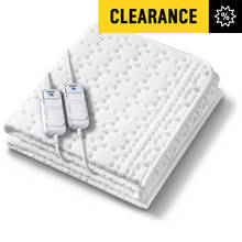 Beurer Allergyfree Dual Control Heated Blanket - Double