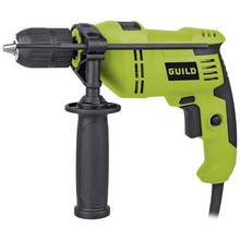 Guild 13mm Keyless Corded Hammer Drill - 600W