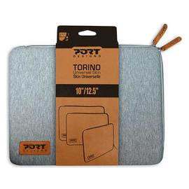 Port Designs Torino 10-12.5 Inch Laptop Sleeve - Grey