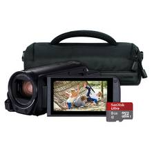 Canon Legria HF-R806 Full HD Camcorder Bundle - Black