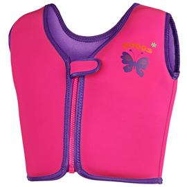 Zoggs Pink Swim Jacket - 4-5 Years