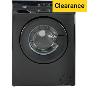 Bush WMDF714B 7KG 1400 Spin Washing Machine - Black
