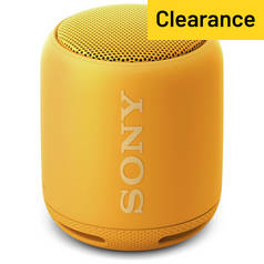Sony SRSXB10Y Wireless Speaker - Yellow