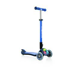 Globber Elite Lights 3 Wheel Scooter - Navy