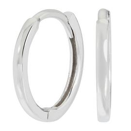 Revere 9ct White Gold Huggie Earrings