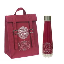 Harry Potter Burgundy Roll Top Bag & Bottle - 420ml