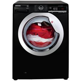 Hoover DXOA 48C3B 8KG 1400 Spin Washing Machine - Black