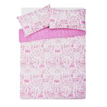 HOME Pink Paisley Bedding Set - Kingsize