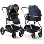 more details on Cupla Duo 2 in 1 Pushchair Rain Cover - Navy