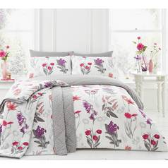 Dreams N Drapes Ingrid Blush Duvet Cover Set - Superking