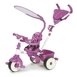 Little Tikes 4-in-1 Sports Edition Trike - Pink/ White