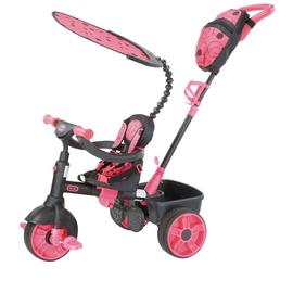 Little Tikes 4-in-1 Deluxe Trike - Neon Pink
