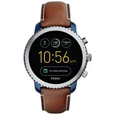 Fossil Q Explorist Gen 3 Smart Watch - Brown Leather