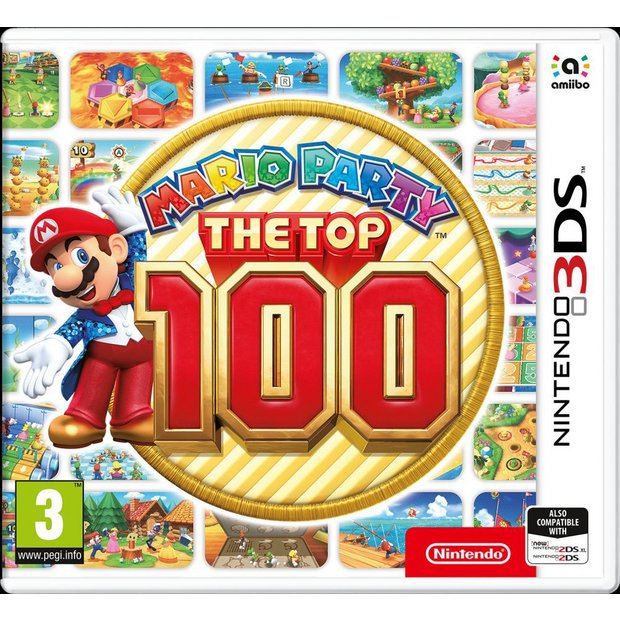 Buy Mario Party: The Top 100 Nintendo 3DS Game | Nintendo 2DS, 2DS XL and  3DS games | Argos
