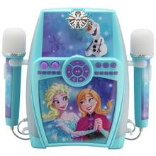 Disney Frozen Karaoke with Dual Microphones.