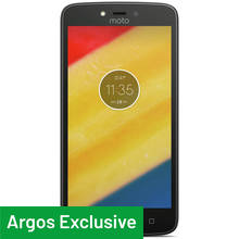 Sim Free Motorola Moto C Plus Mobile Phone - Black
