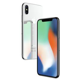 SIM Free iPhone X 64GB Mobile Phone - Silver