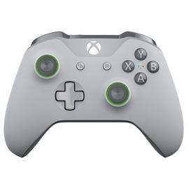 Official Xbox One Special Edition Controller - Grey / Green