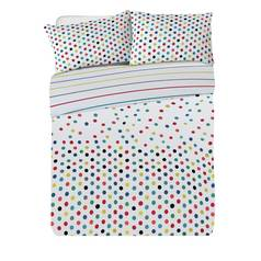 Argos Home Confetti Jersey Bed in a Bag - Kingsize