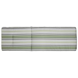 Argos Home Sun Lounger Green Stripe Cushion
