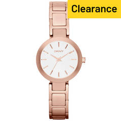 DKNY Ladies' Stanhope NY2400 Rose Gold Tone Bracelet Watch