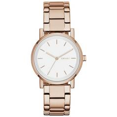 DKNY Ladies' Soho NY2344 Rose Gold Coloured Bracelet Watch