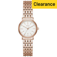 DKNY Ladies' Minetta NY2511 Rose Tone Bracelet Watch