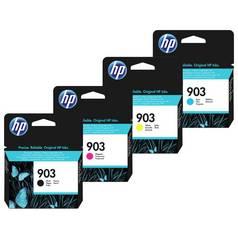 HP 903 Black And Tri Colour Ink Catridge Multipack