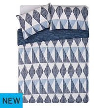 HOME Scratch Geo Bedding Set - Double