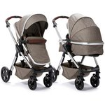 more details on Venti 2 in 1 Pushchair - Coffee