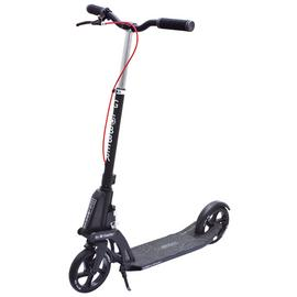 Globber One K Active with Brake Adult Scooter - Black