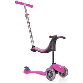 Globber 4-in-1 3 Wheel Scooter - Deep Pink