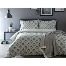 Appletree Axis Blue Bedding Set - Kingsize