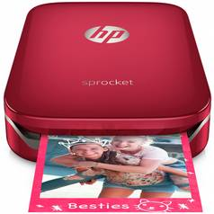 HP Sprocket Photo Printer - Red